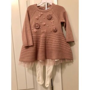 Tahari Baby Sweater Dress